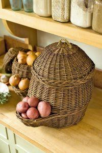 Onion & Potato Storage Baskets | Gardeners.com