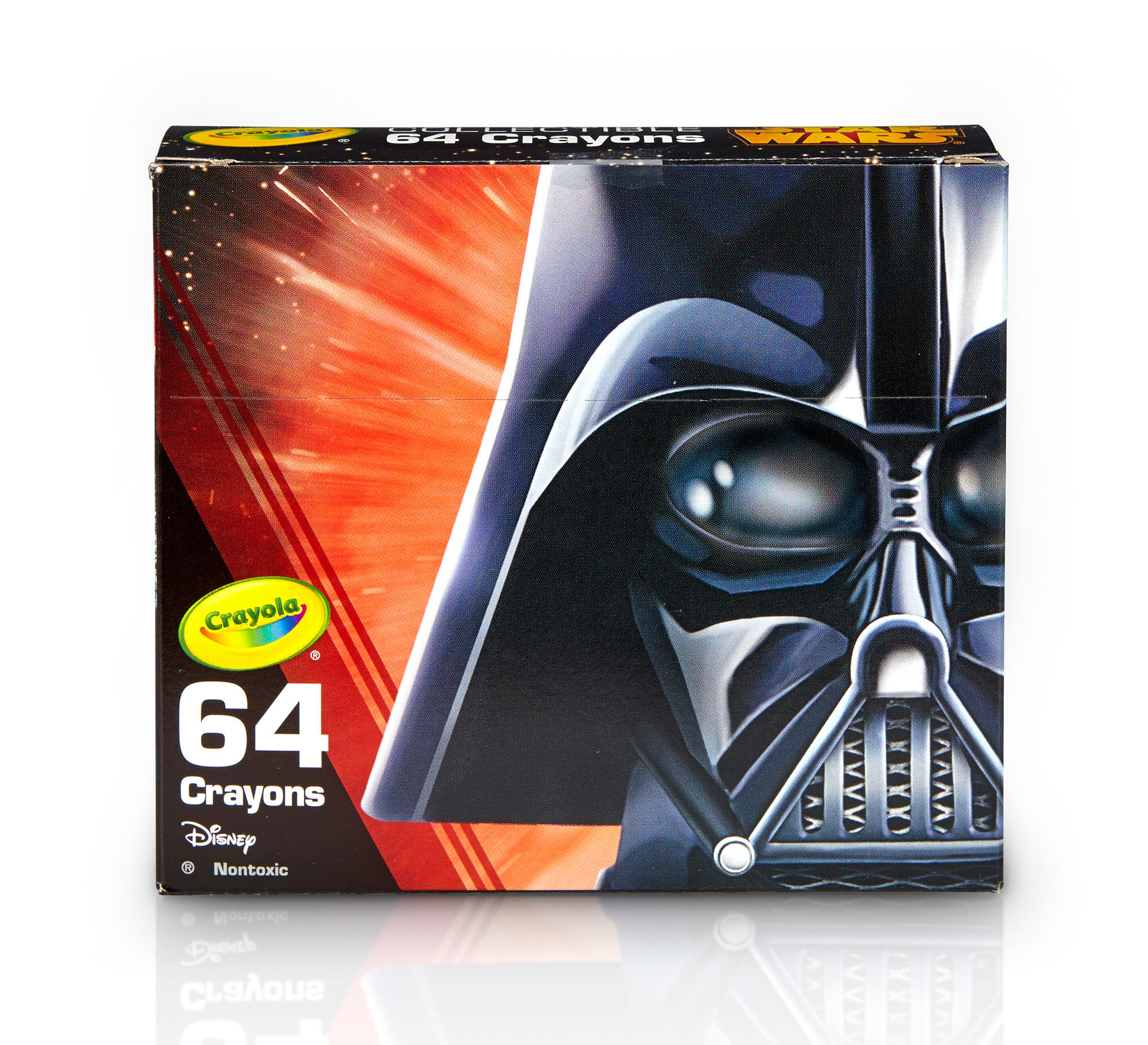 Star Wars, Darth Vader 64 Count Crayon Box