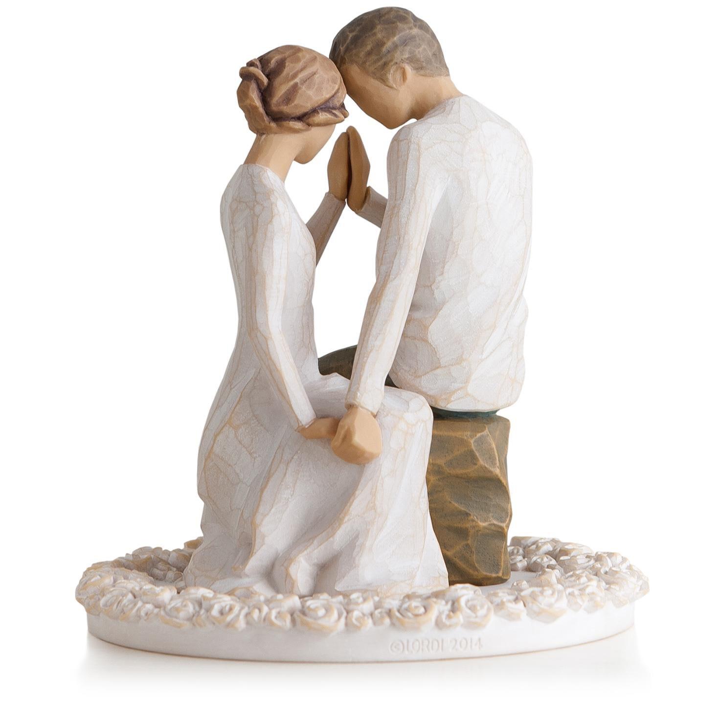 Willow Tree Around You Figurine  Wedding Cake Topper