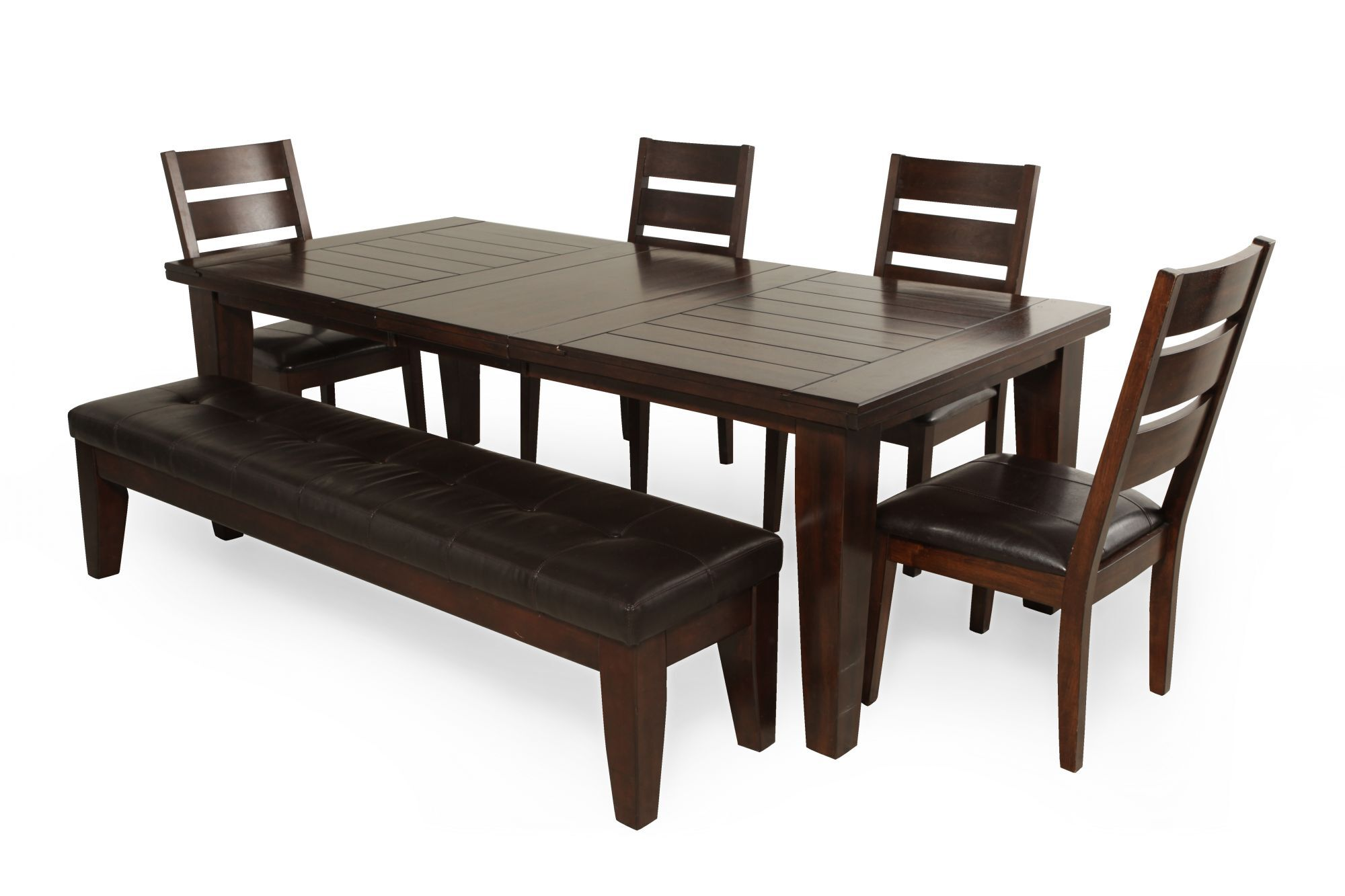 Ashley Larchmont Six Piece Dining Set Mathis Brothers
