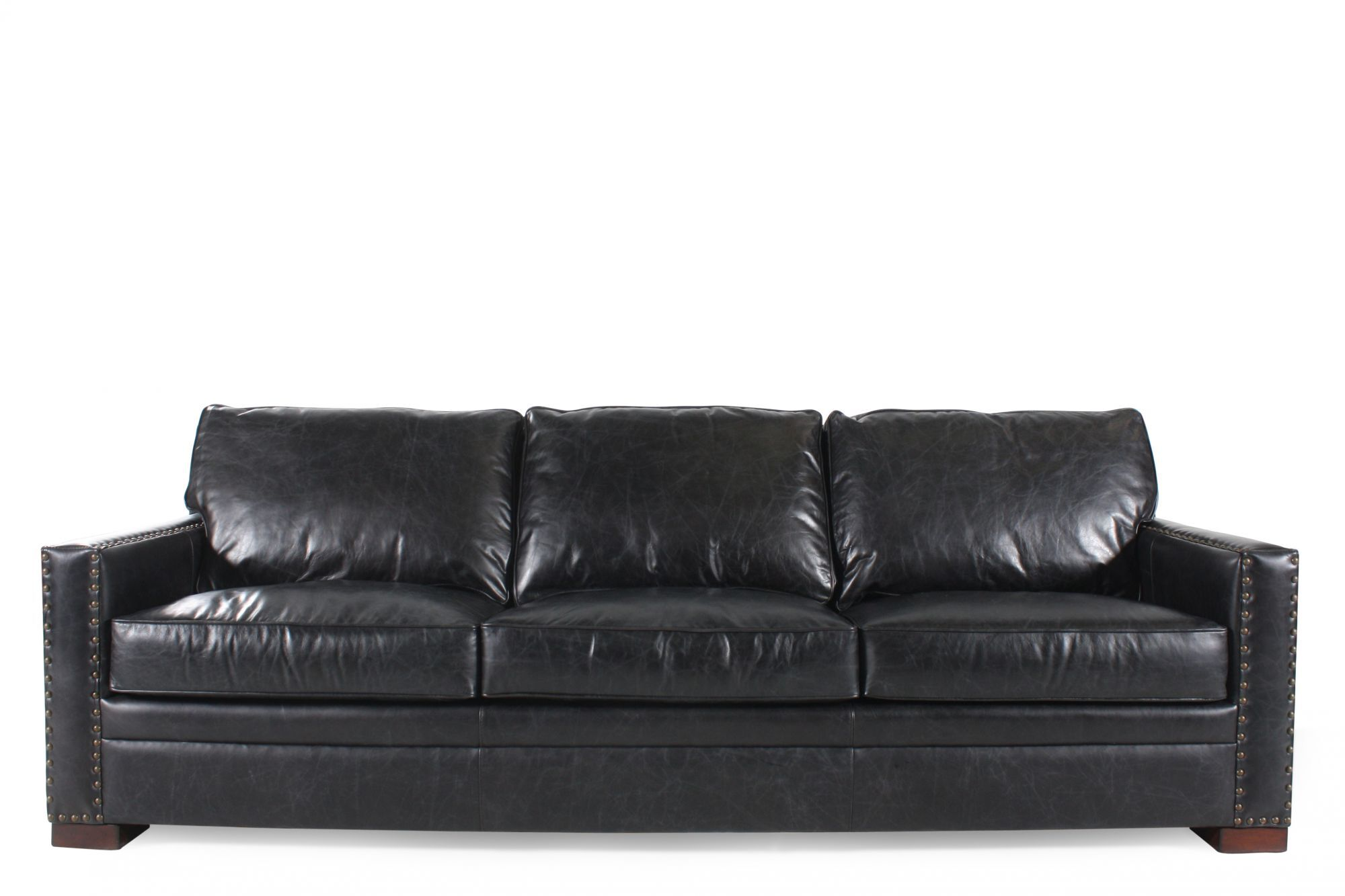henredon sofa leather martin mathis brothers furniture