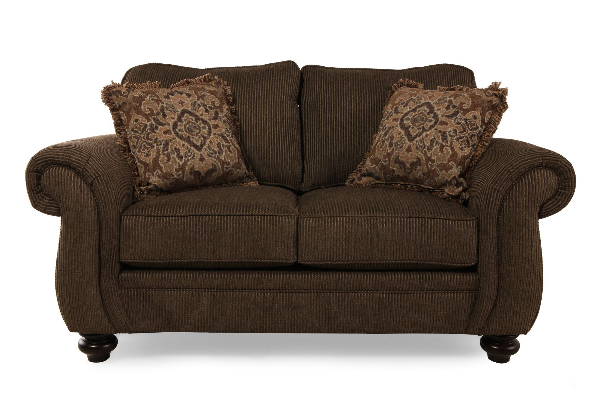 broyhill sofa and loveseat what color paint goes with brown leather cassandra mathis brothers furniture
