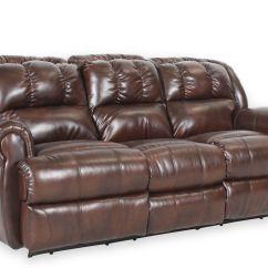 Lane Dual Power Reclining Sofa Kids Flip Open Evans Double Mathis Brothers Furniture