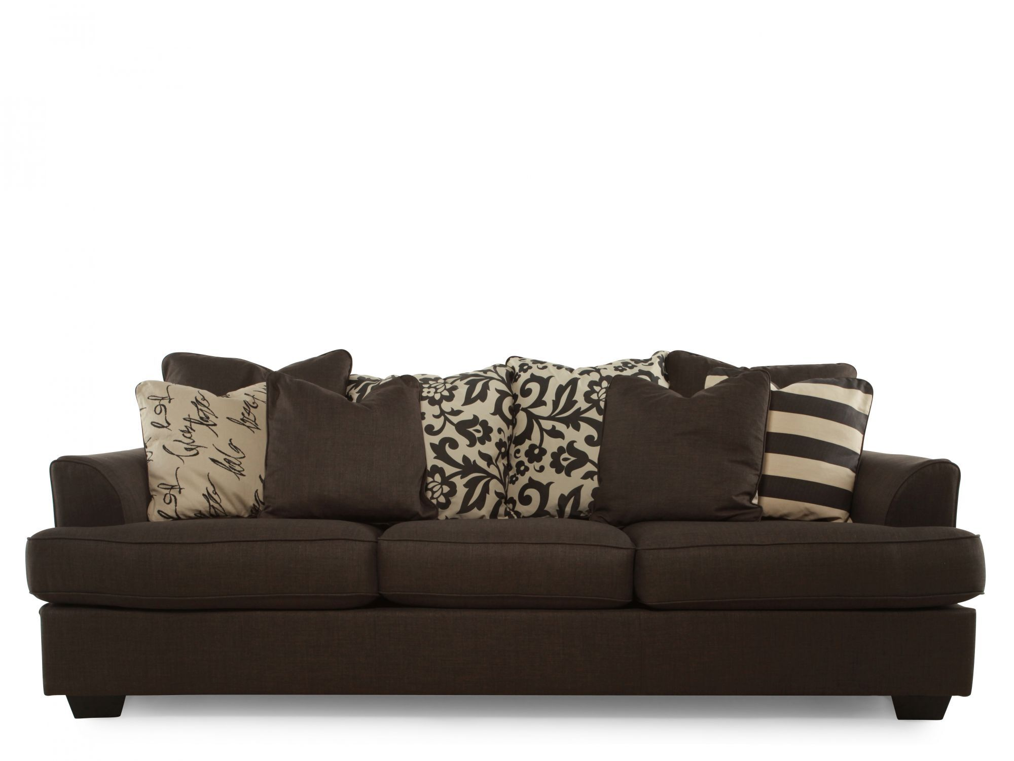 Levon Charcoal Sofa  Mathis Brothers