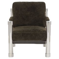 Bernhardt Brown Leather Club Chair Universal Covers Shawn Mathis Brothers Furniture