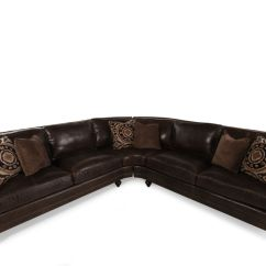 Bernhardt Brae Sectional Sofa Gordon Tufted Mathis Brothers