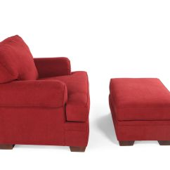 Red Chair And Ottoman Christmas Covers Uk Broyhill Landon Mathis Brothers