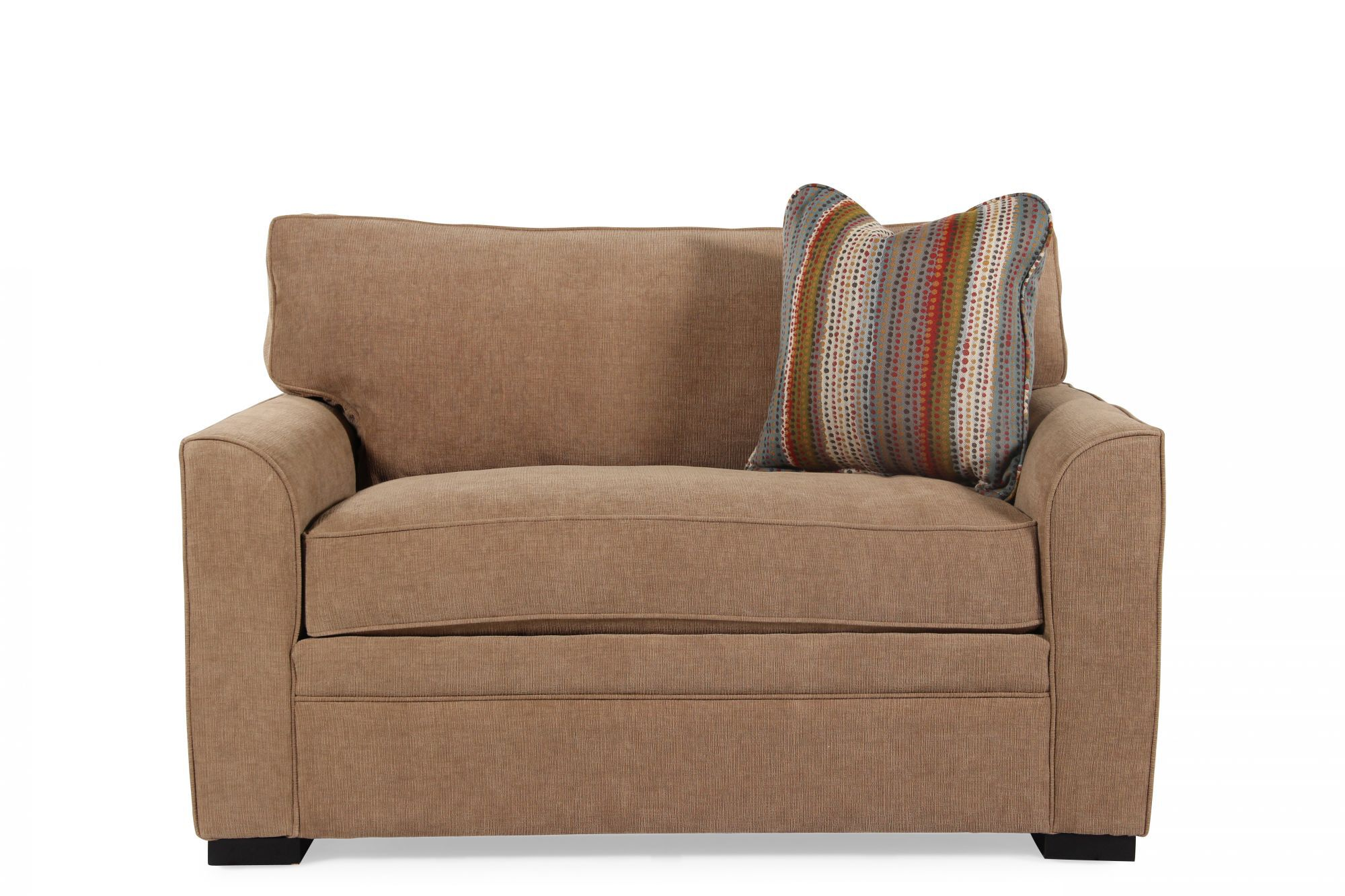 jonathan louis sofa bed how to make a slipcover for blissful brown chairbed memory foam sleeper
