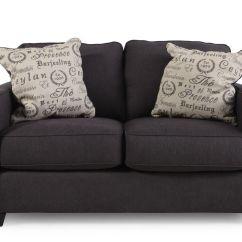 Living Room Clocks Next Modern Sofa Designs For Ashley Alenya Charcoal Loveseat | Mathis Brothers Furniture