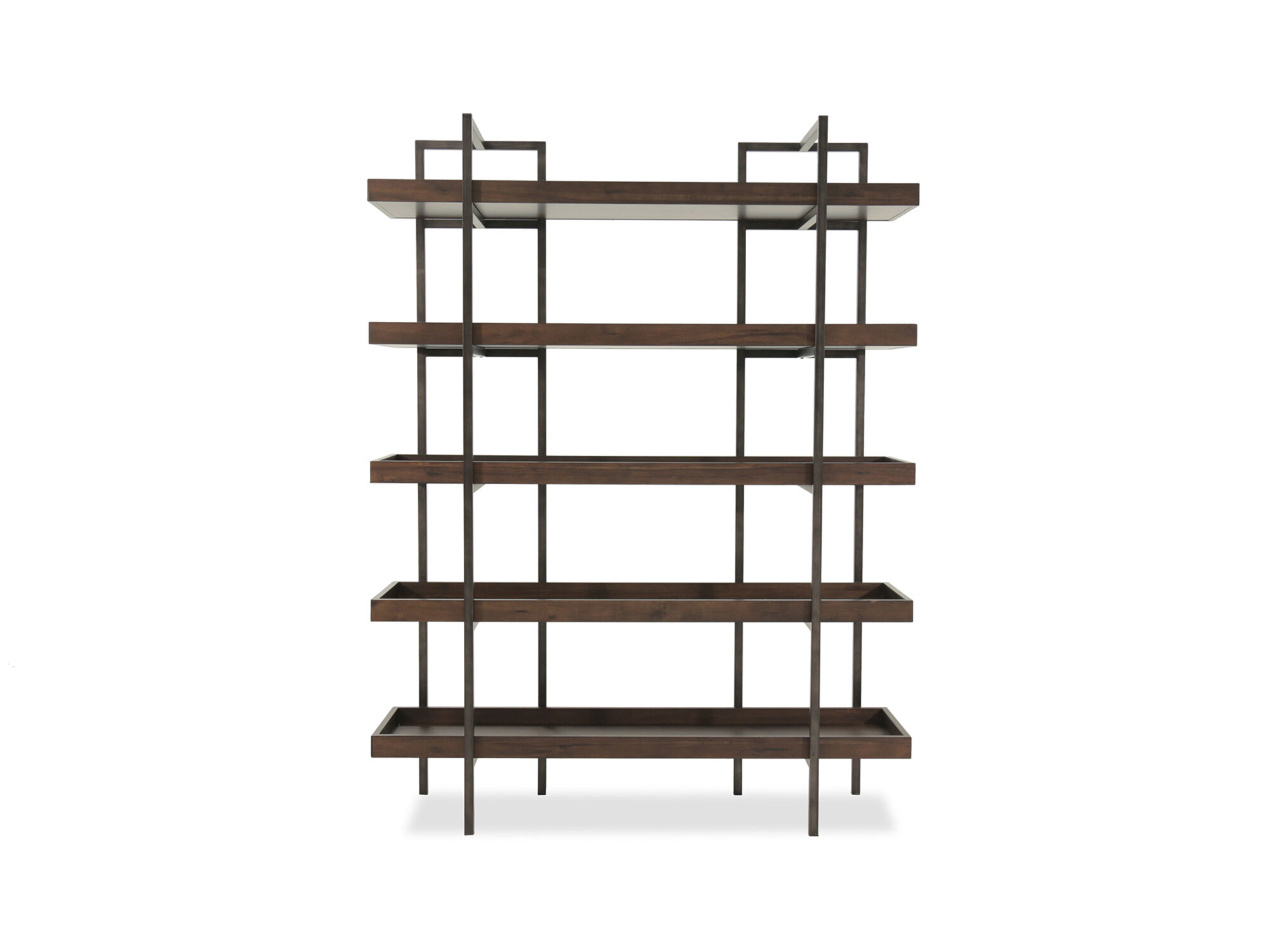 Ashley Starmore Brown 76 Bookcase  Mathis Brothers Furniture