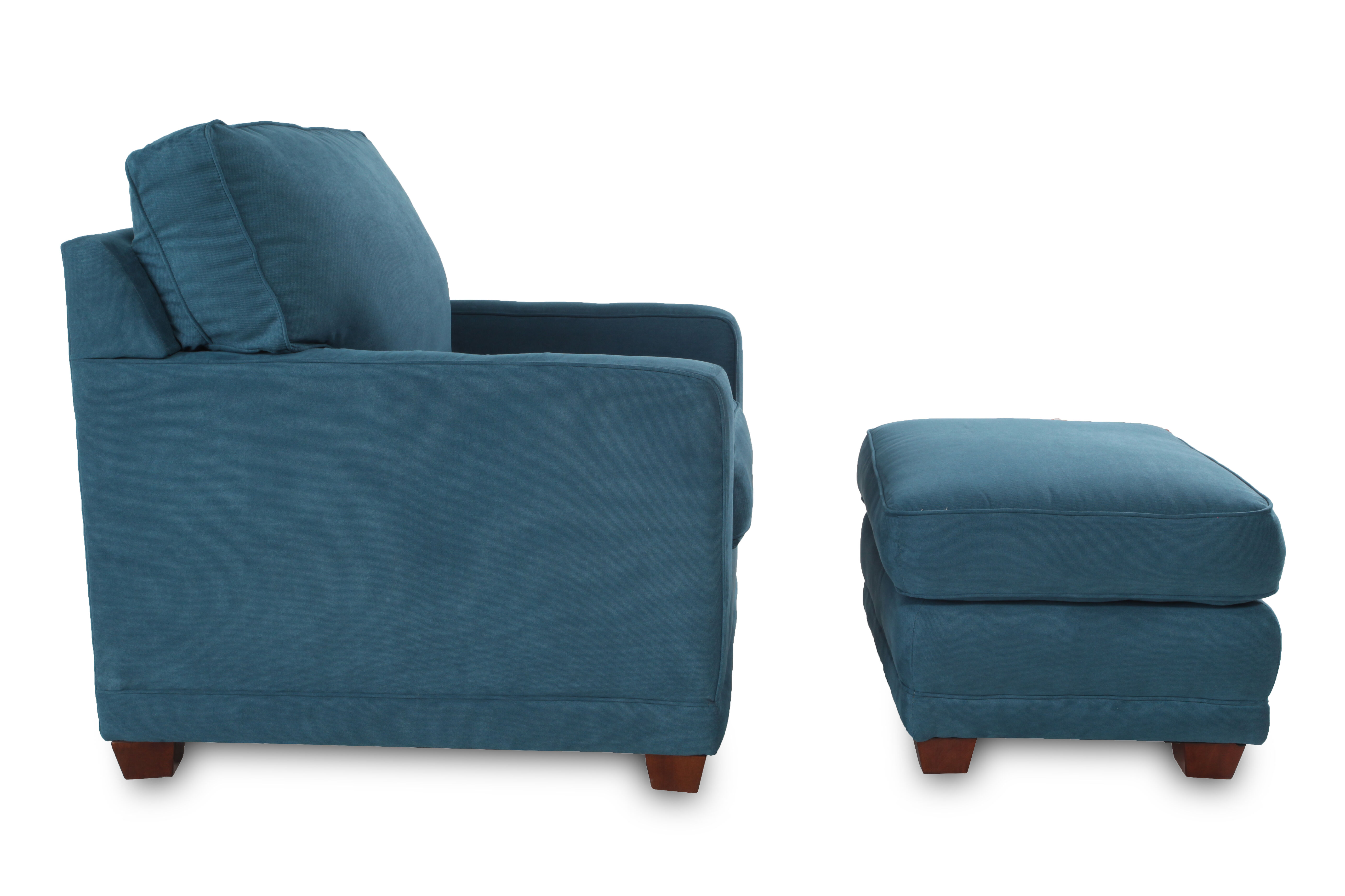 Boys Chair La Z Boy Kennedy Teal Chair And Ottoman Mathis Brothers