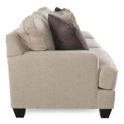 Ashley Furniture Ballari Linen Sofa Stationary Brielyn Mathis Brothers