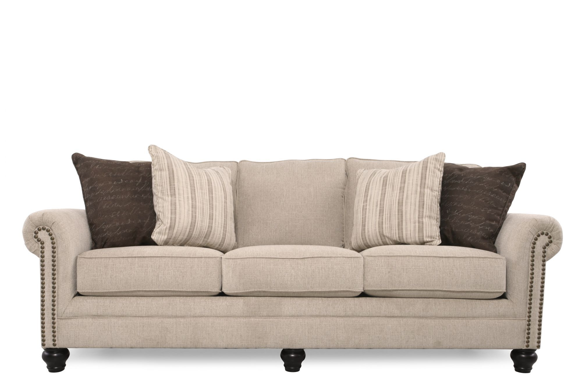 ashley furniture ballari linen sofa a in spanish milari mathis brothers