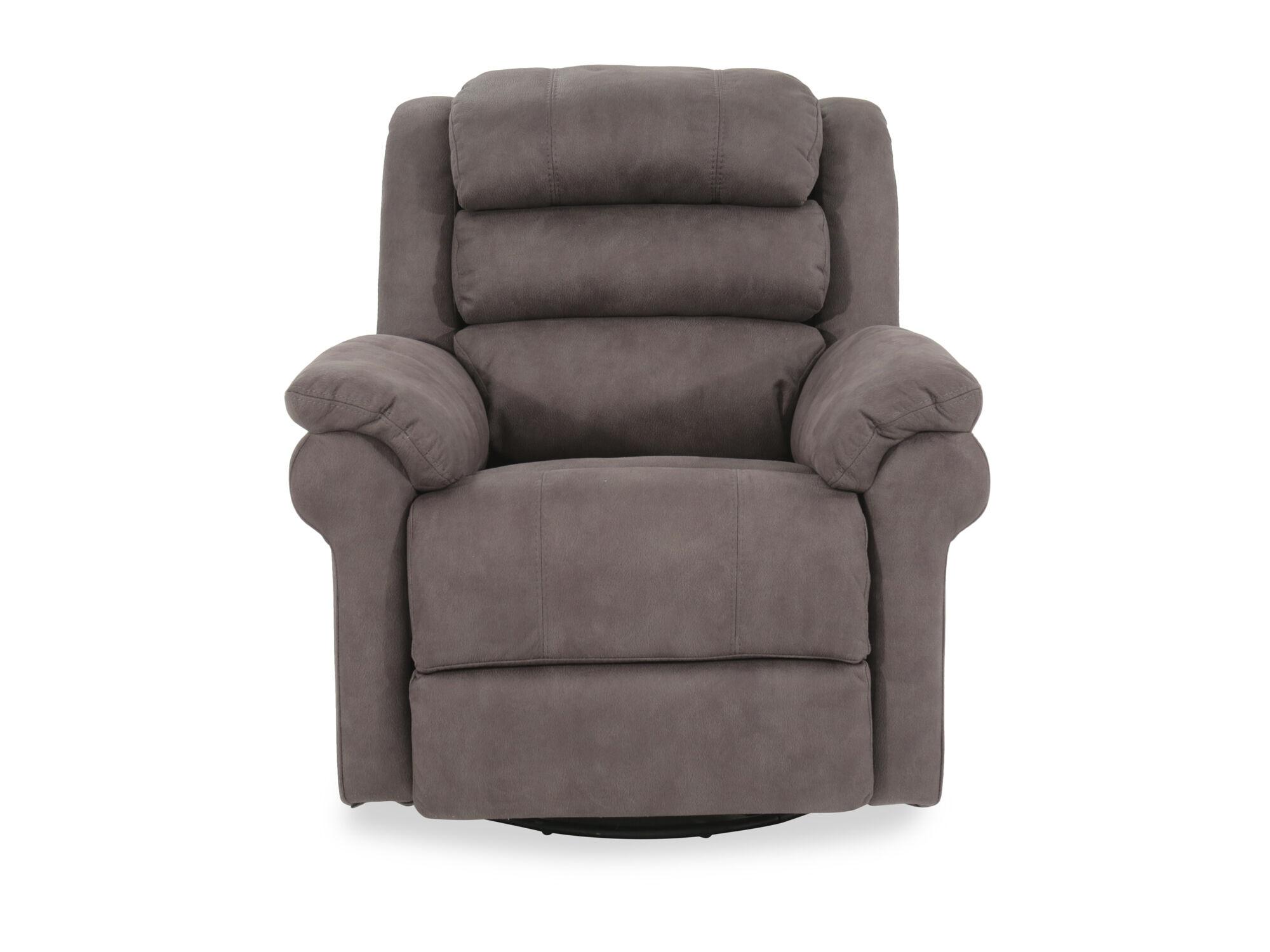 recliner chair covers grey beach cooler backpack boulevard gray power swivel glider mathis