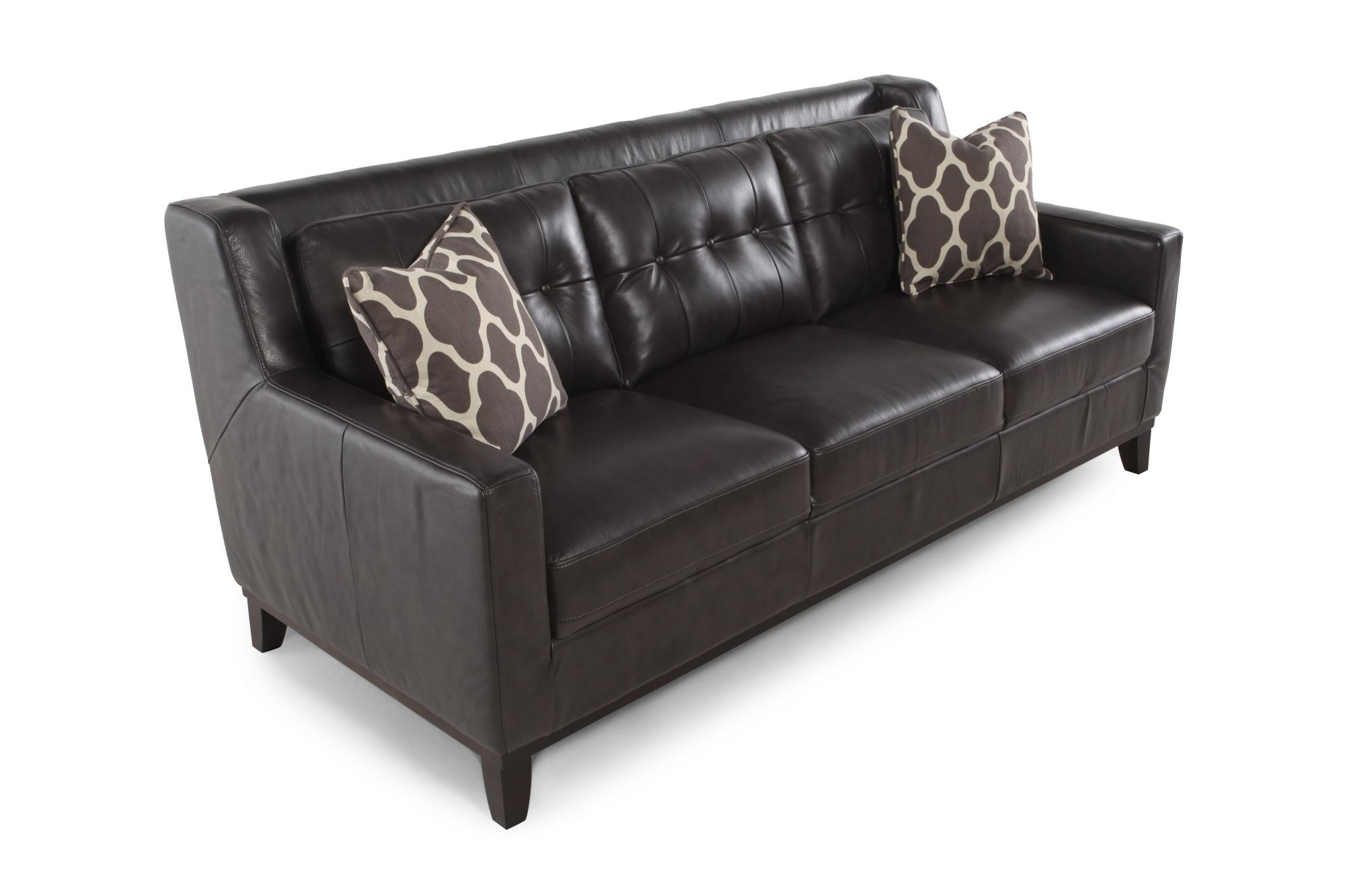 gray leather sofa images chesterfield manufacturer uk boulevard grey mathis brothers furniture