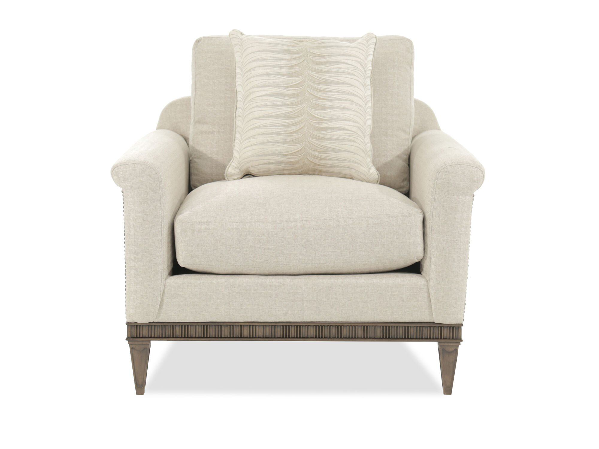 Broyhill Cashmera Beige Luxe Chair and a half  Mathis