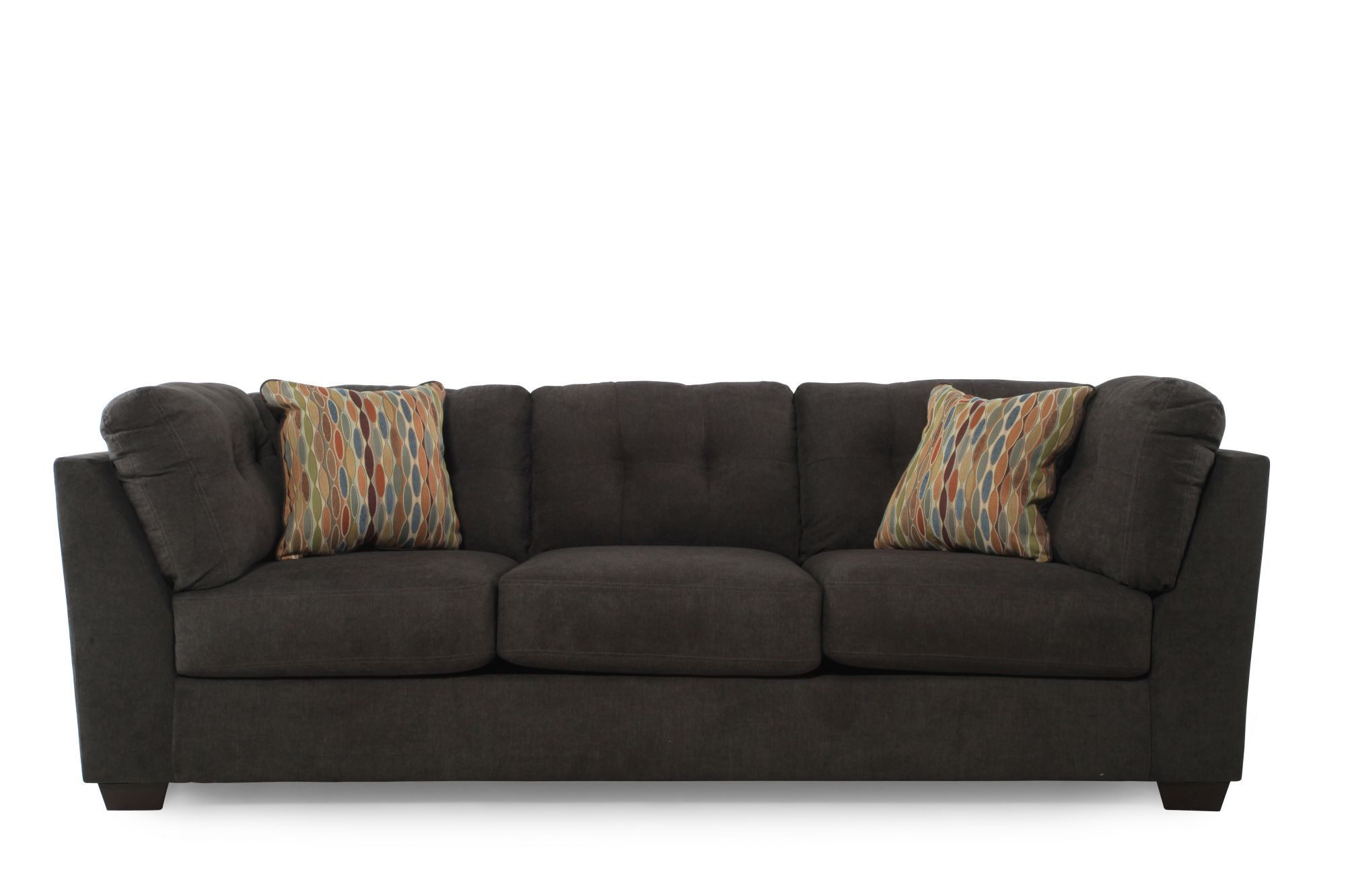 sofa steel sectional vancouver ashley delta city mathis brothers furniture