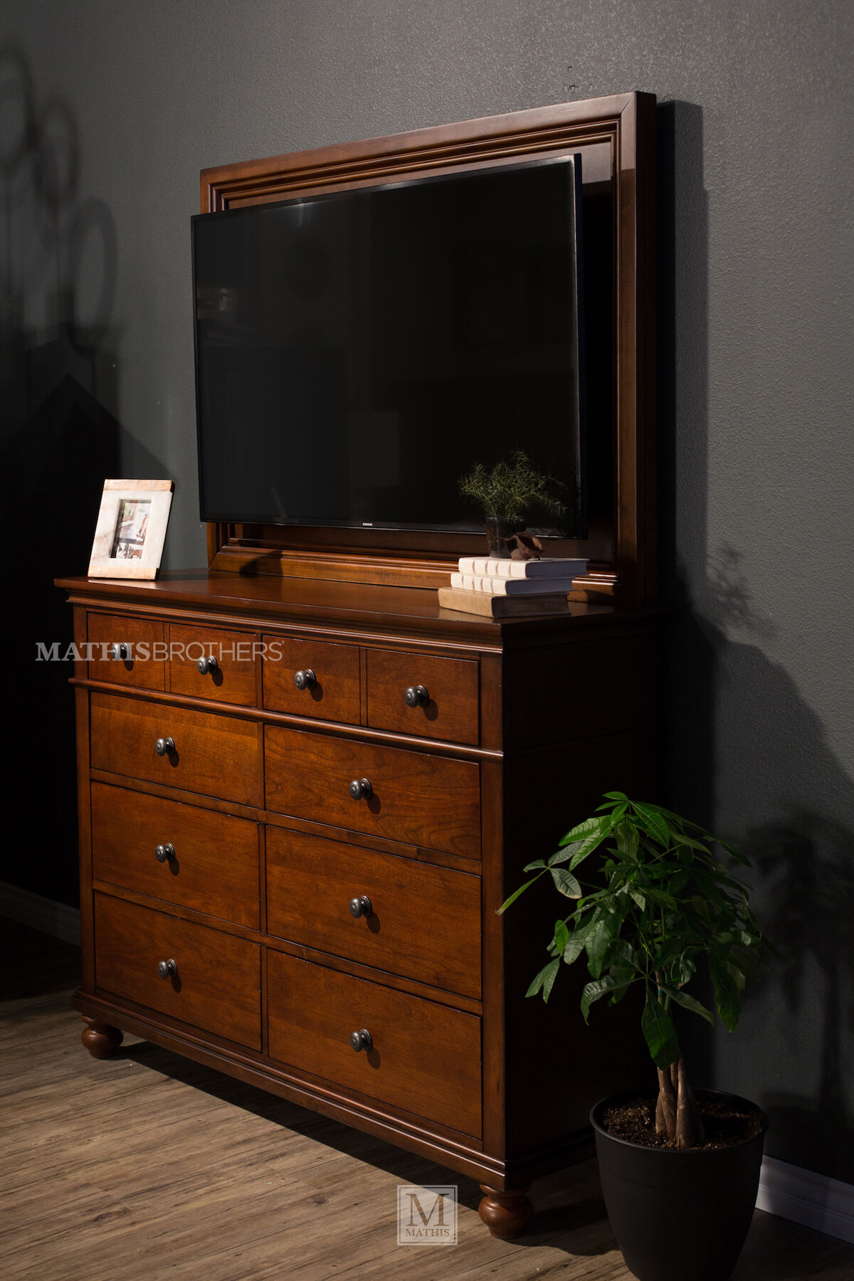 Aspen Oxford Whiskey Brown Bedroom Suite Mathis Brothers