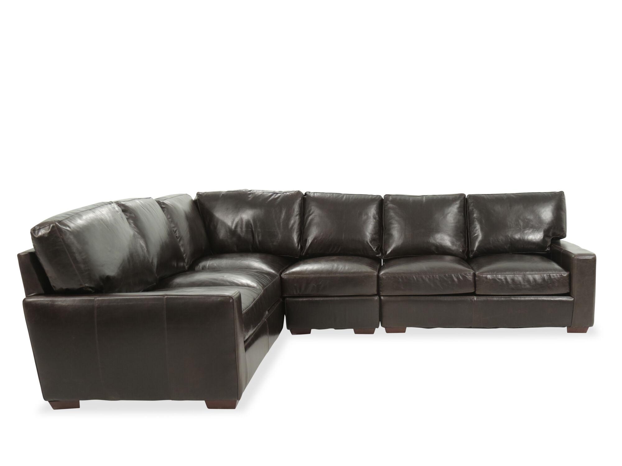 next brompton leather sofa newton chaise sleeper usa tobacco four piece sectional mathis