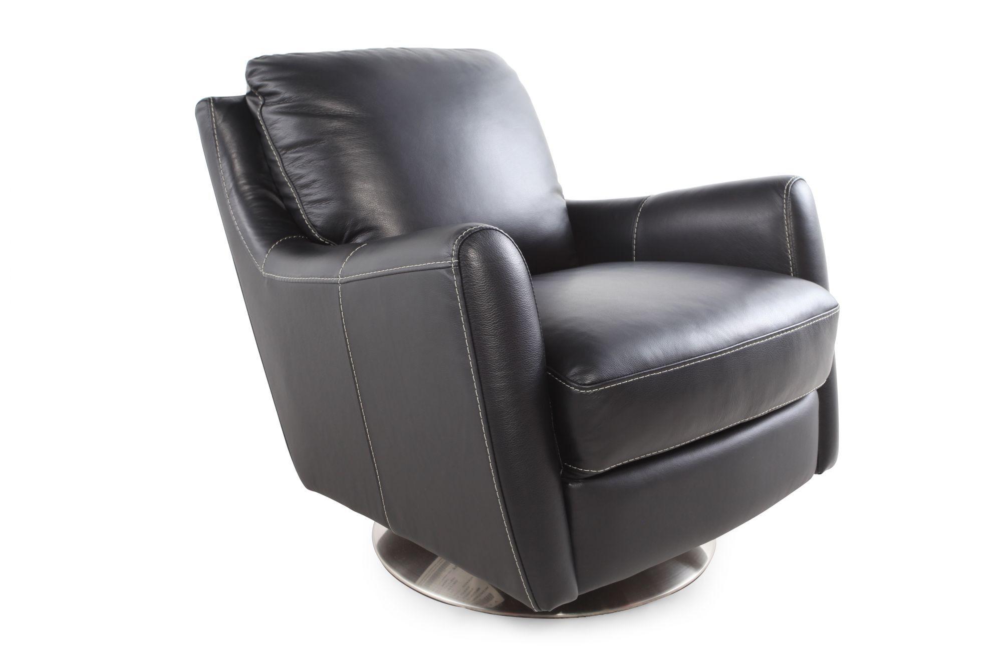 la z boy swivel chair best executive office xavier black leather mathis