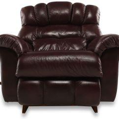 Leather Recliner Chairs Gold Accent Chair La Z Boy Crandell Bordeaux Mathis