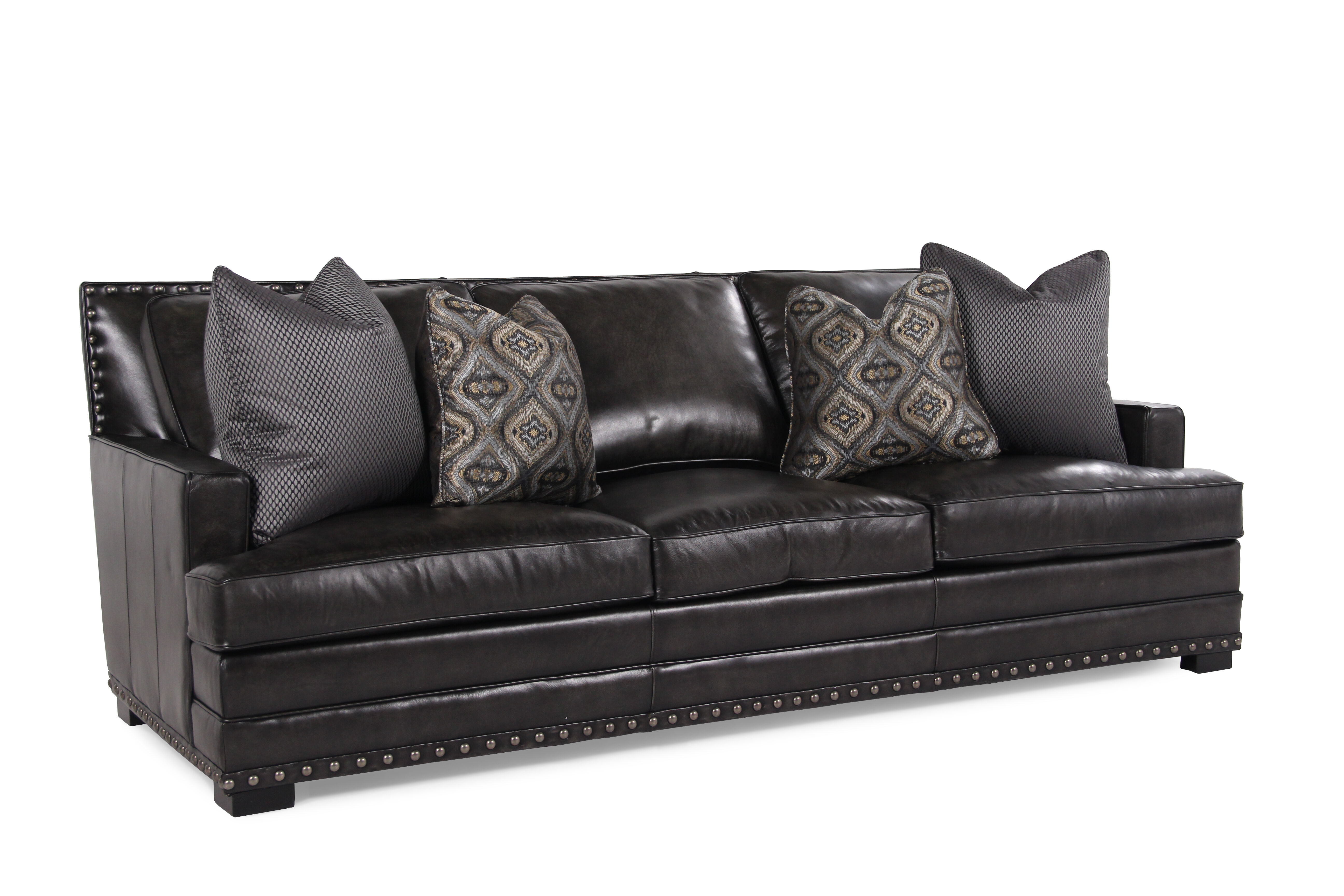bernhardt cantor sectional sofa micasa bettsofa schneider graphite leather mathis brothers