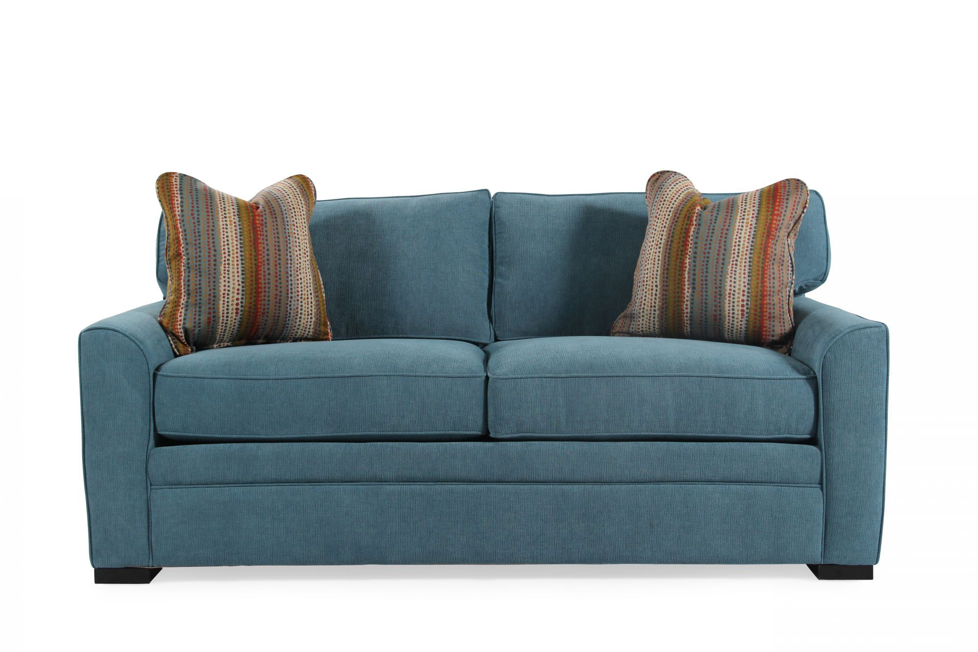 jonathan louis sofa bed covers for sectional blissful blue queen memory foam sleeper