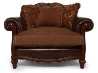 Ashley Clairemore Antique Chair and a Half | Mathis ...