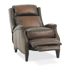 Bernhardt Brown Leather Club Chair Blue Velvet Nz Connery Recliner Mathis Brothers