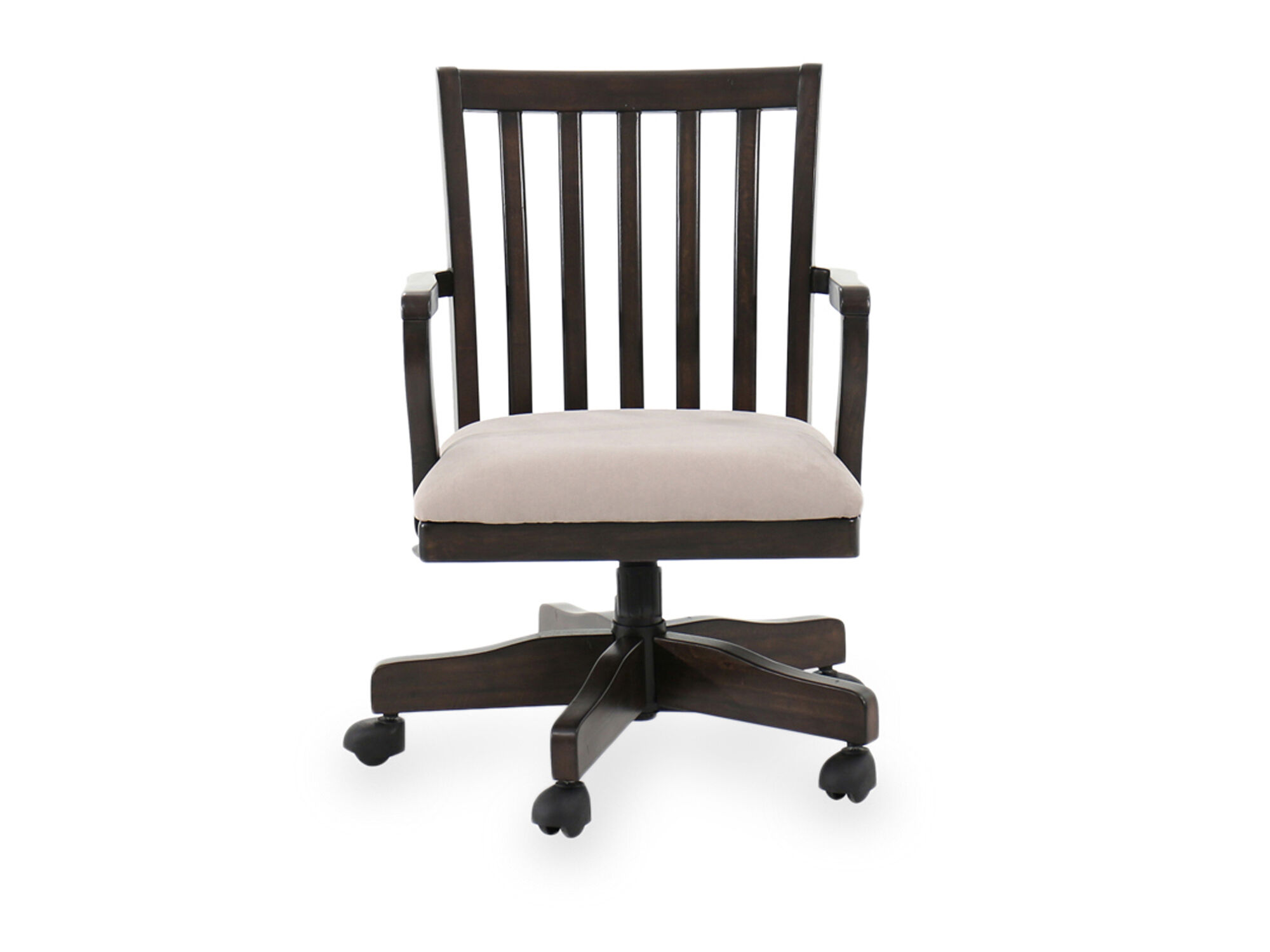 swivel chair for home office desk doesn't stay up ashley townser mathis
