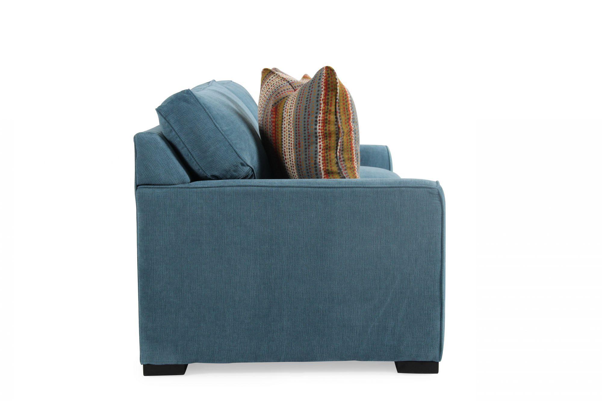 sh memory foam sleeper sofa mattress what type of leather is best for sofas jonathan louis blissful blue full