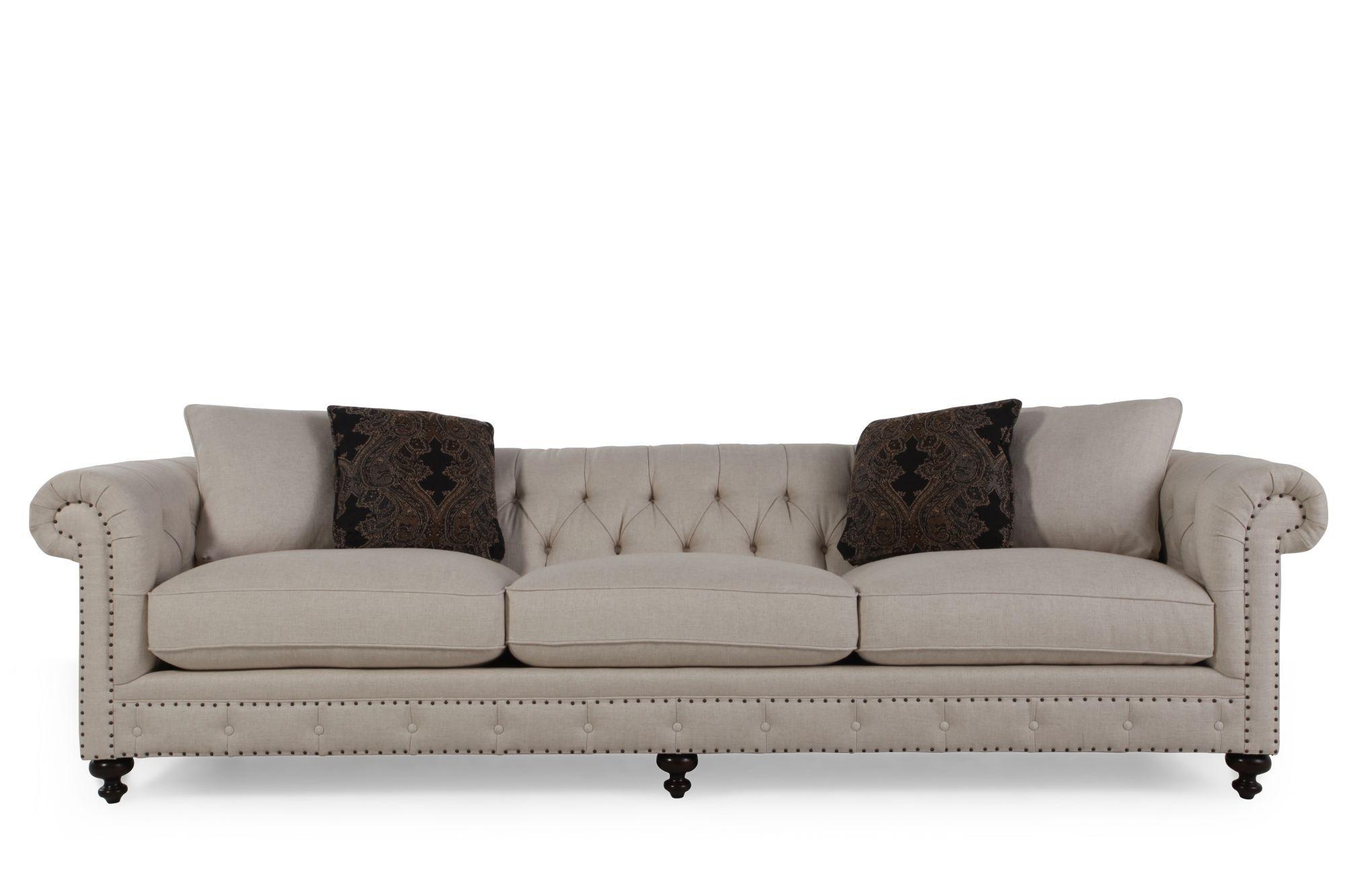 bernhardt riviera large sofa livingroom sofas mathis brothers furniture