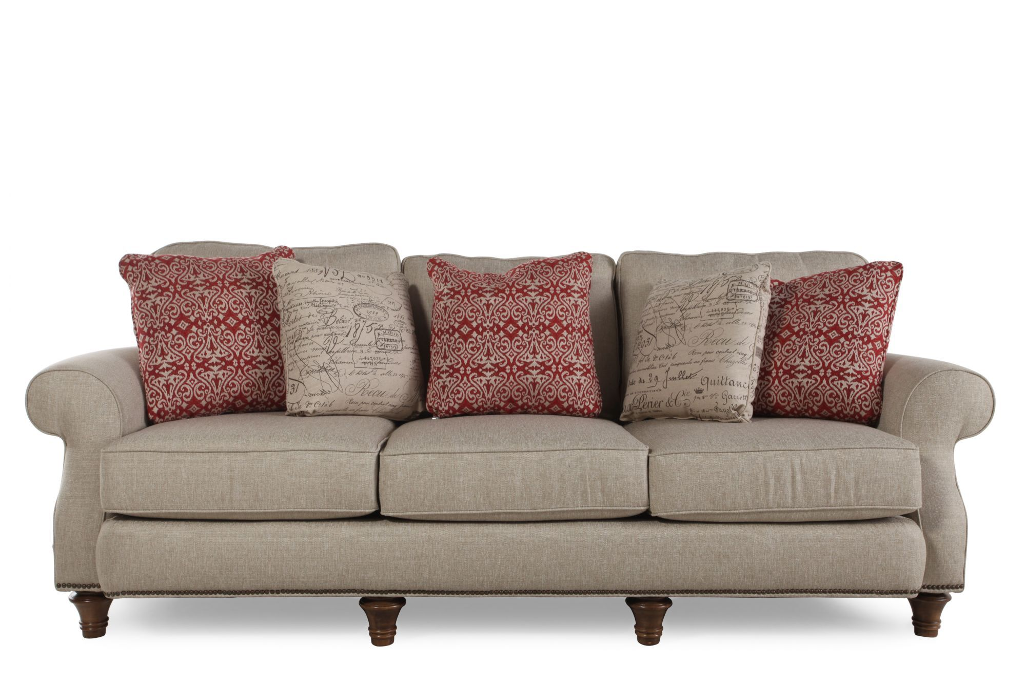 Broyhill Whitfield Sofa  Mathis Brothers Furniture