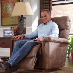 Lazy Boy Living Room Table La-z-boy Lawrence Silt Rocker Recliner | Mathis Brothers ...