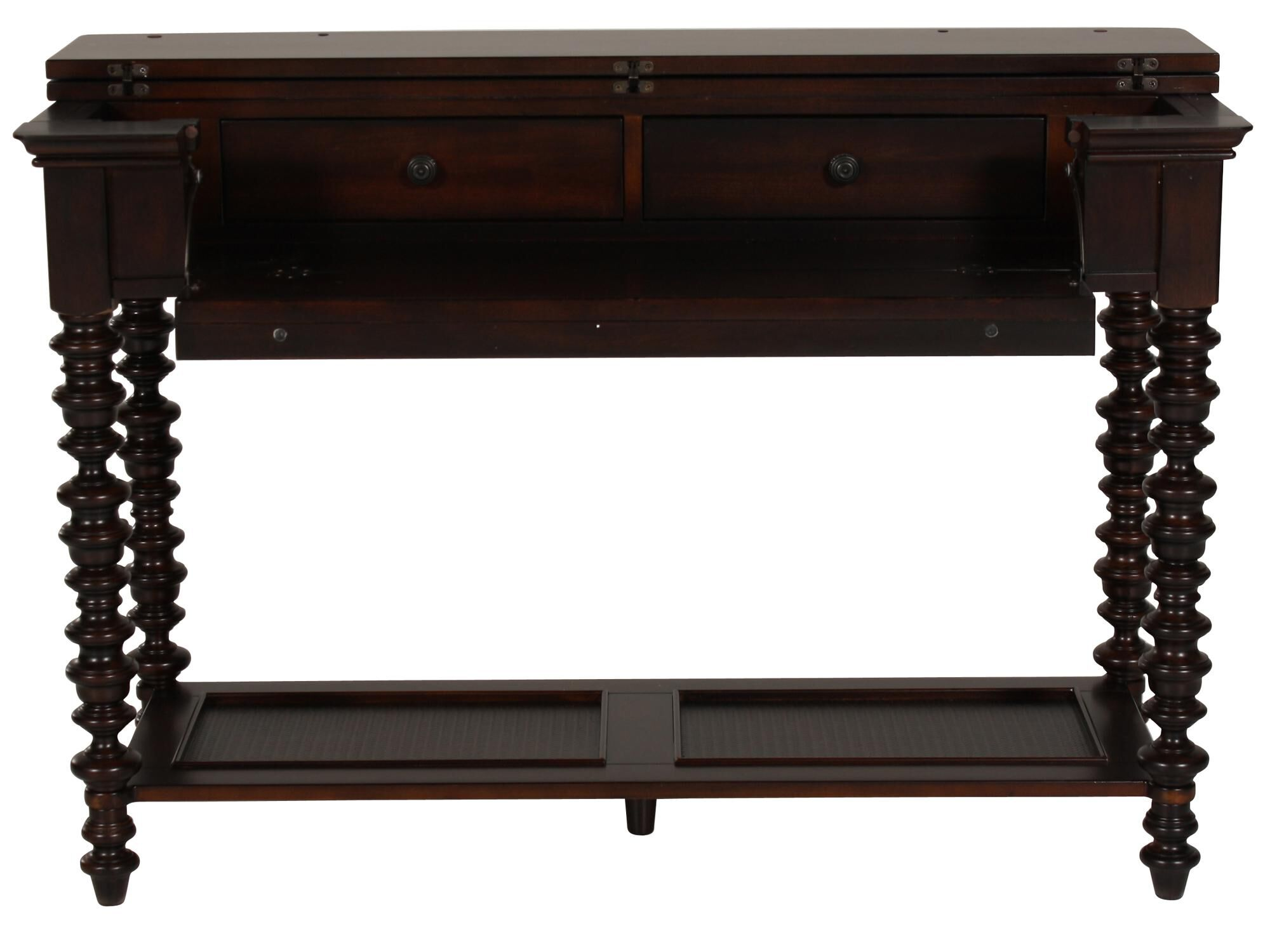 ashley sofa tables l shape set online bangalore console table mathis brothers