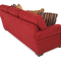 Broyhill Landon Sofa Red Two Seater Recliner Mathis Brothers Furniture