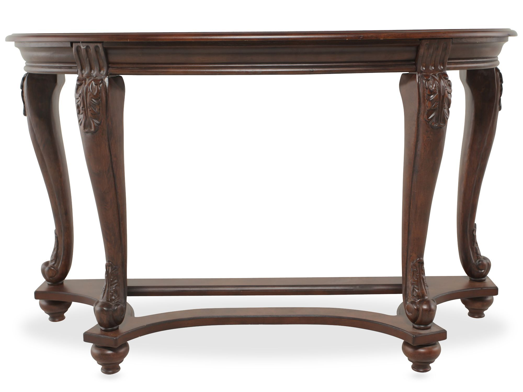 ashley sofa tables blue wooden legs norcastle table mathis brothers furniture