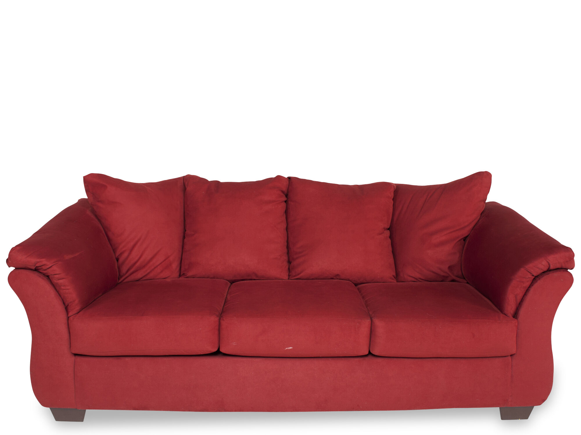 ashley darcy sofa on tufted salsa mathis brothers furniture
