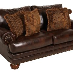 Ashley Leather Sofas And Loveseats Chesterfield Sofa Bed Sale Millennium Performance Antique Loveseat