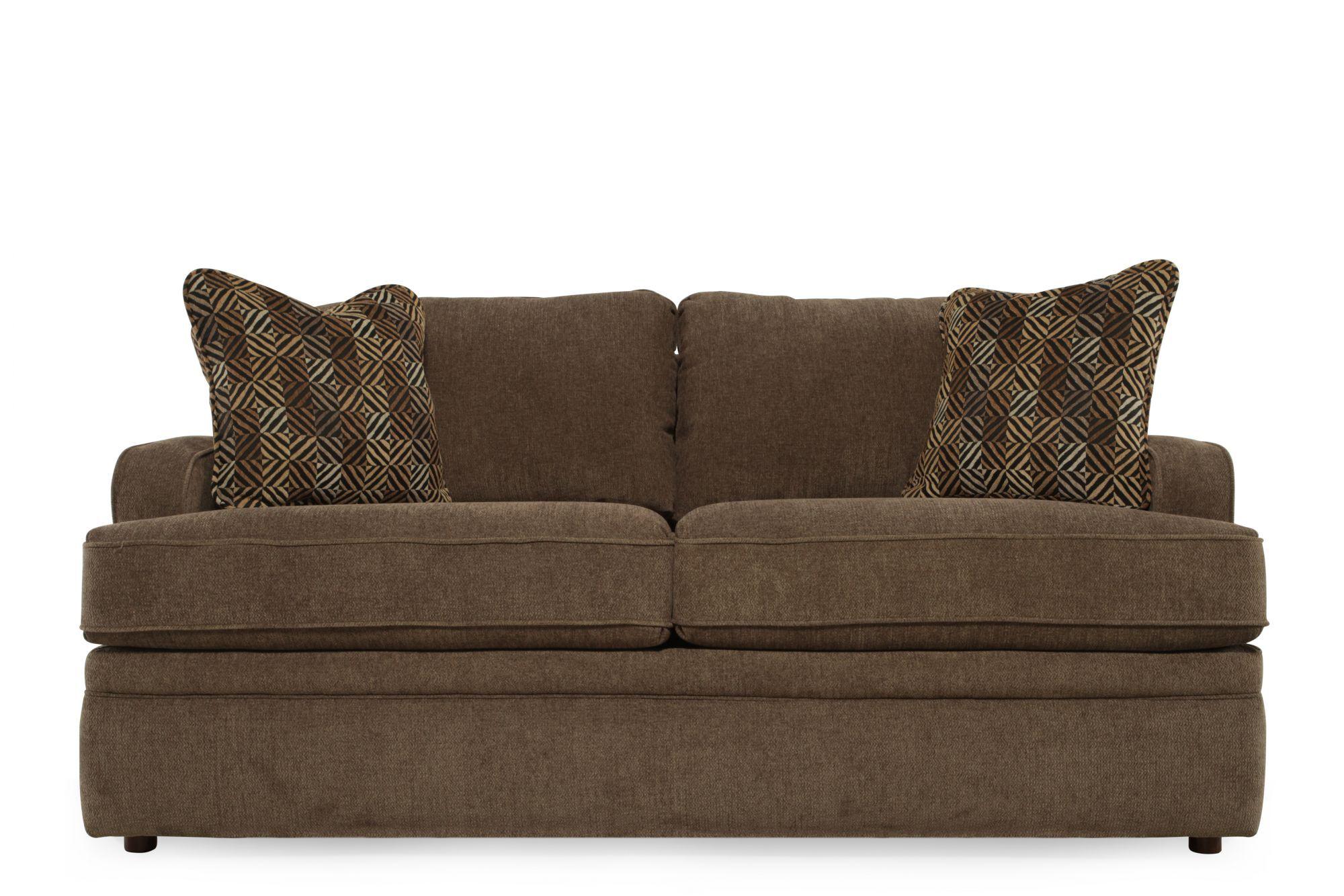 la z boy diana sleeper sofa corner 2 tobacco full mathis brothers