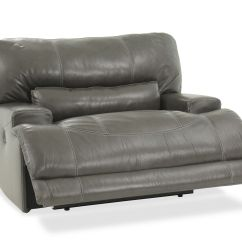 Ashley Oversized Chair Lounge Chairs Outdoor Mccaskill Gray Power Recliner Mathis