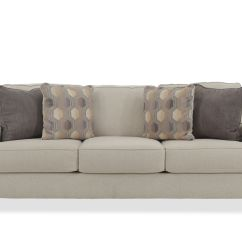 Ashley Furniture Ballari Linen Sofa Microfiber Suede Brielyn Mathis Brothers