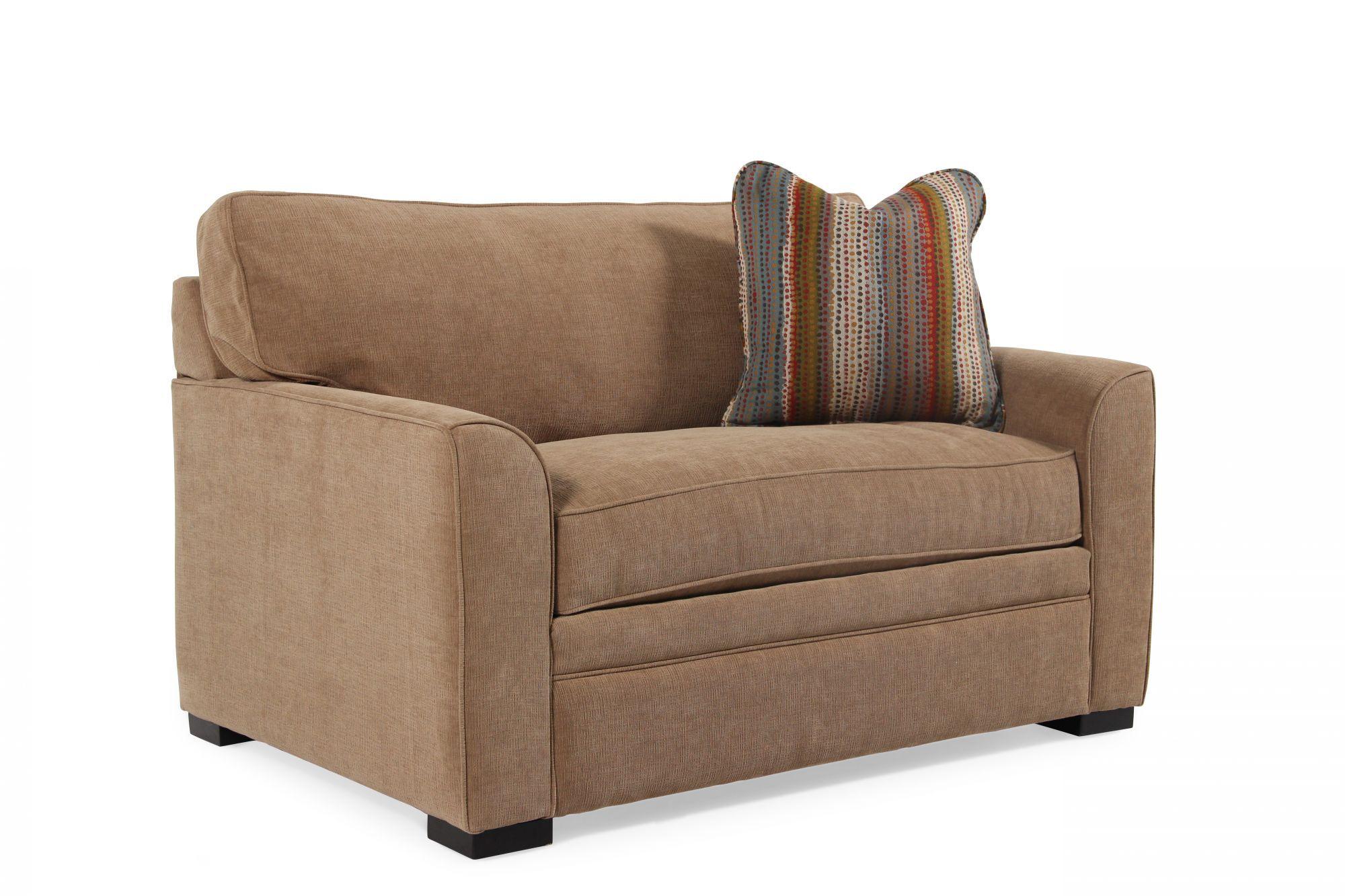 sh memory foam sleeper sofa mattress eq3 bed review jonathan louis blissful brown chairbed