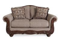 Ashley Cecilyn Cocoa Loveseat | Mathis Brothers Furniture