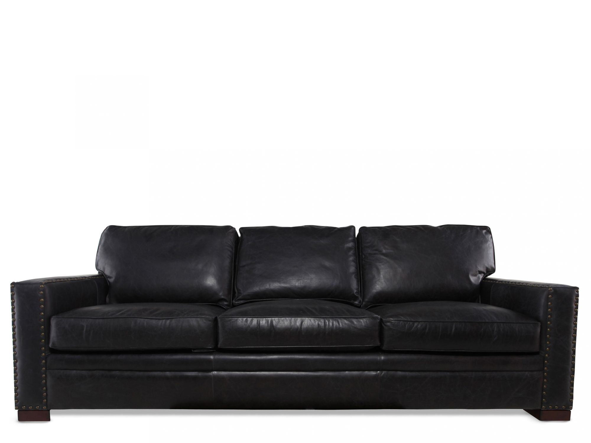 henredon sofa leather extra large chaise lounge mathis brothers