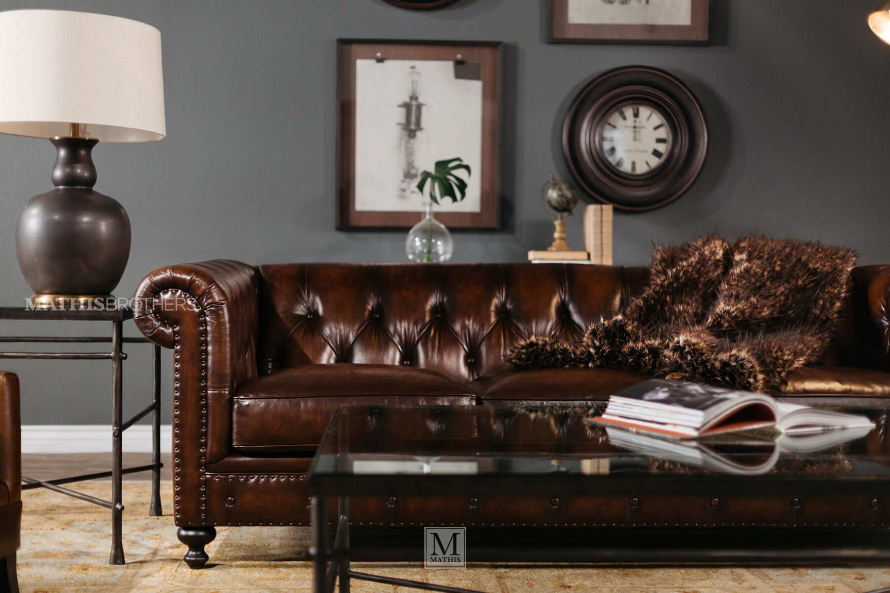 bernhardt brown leather club chair royal botania alura london dark sofa mathis
