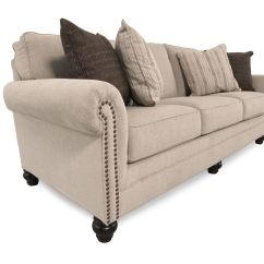 Milari Sofa Ashley Furniture Big Cream Cushions Linen Mathis Brothers