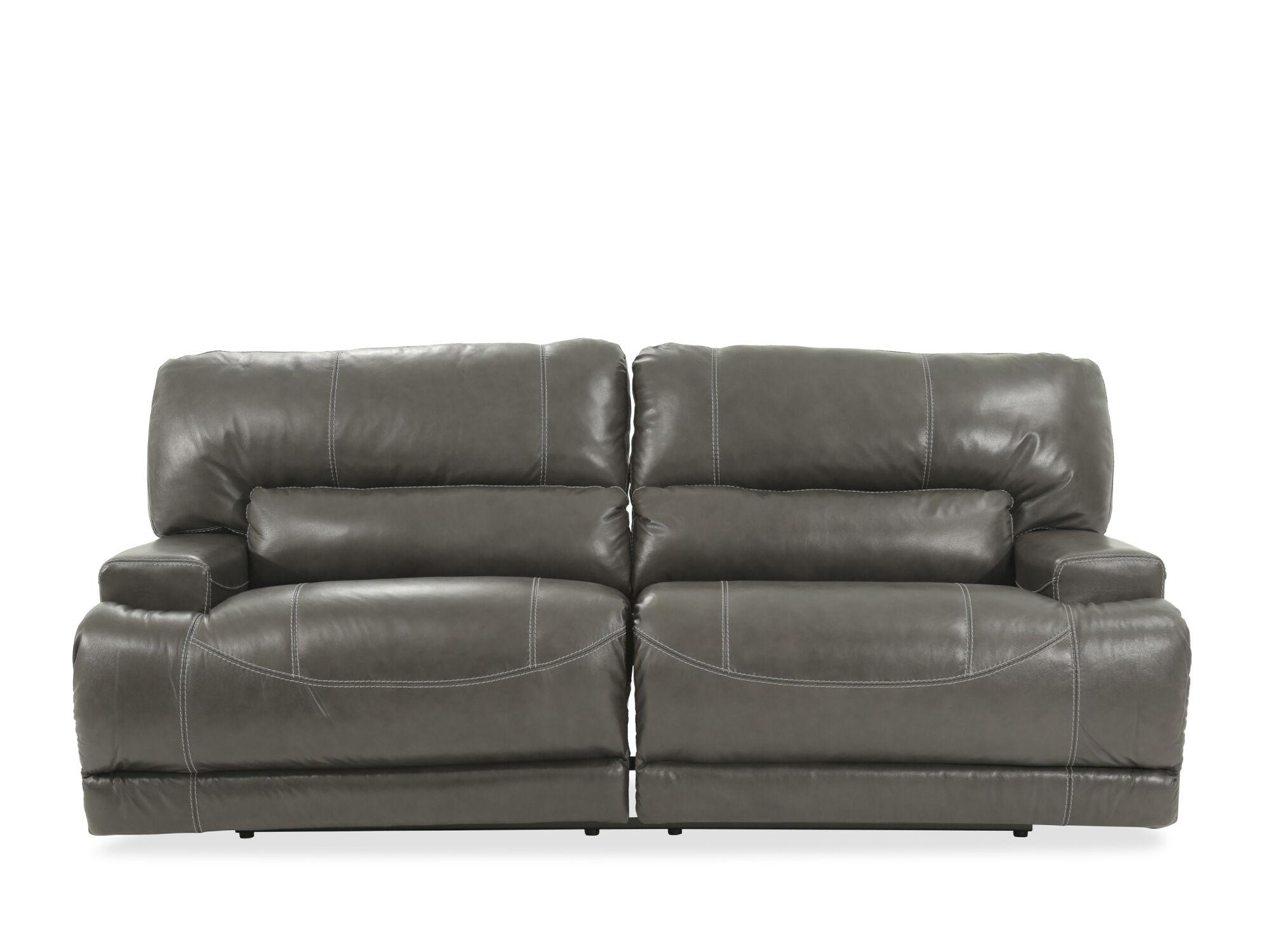 grey power reclining sofa dog bed australia ashley mccaskill gray mathis