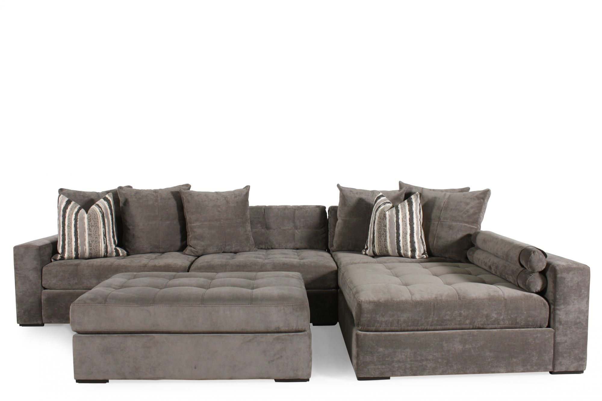 jonathan louis sofas marshmallow 2 in 1 flip open sofa disney doc mcstuffins noah gray sectional mathis brothers furniture