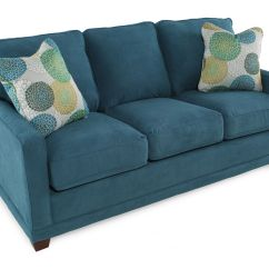 Teal Sofas Fabric Recliner At Dfs La Z Boy Kennedy Sofa Mathis Brothers Furniture